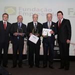 Homenageados entre os Presidentes FE e FACISC